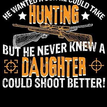 Hunting Daughter Dad Granpa Shoot by Chickini