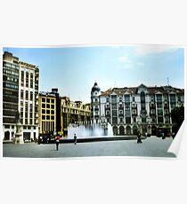 Plaza Zorrilla Poster
