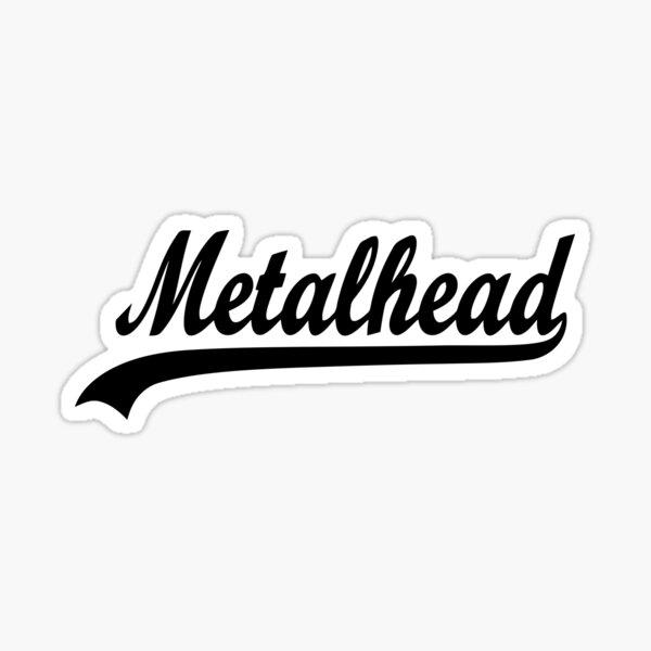 METAL HEAD Sticker
