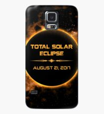 TOTAL SOLAR ECLIPSE AUGUST 21, 2018 Case/Skin for Samsung Galaxy