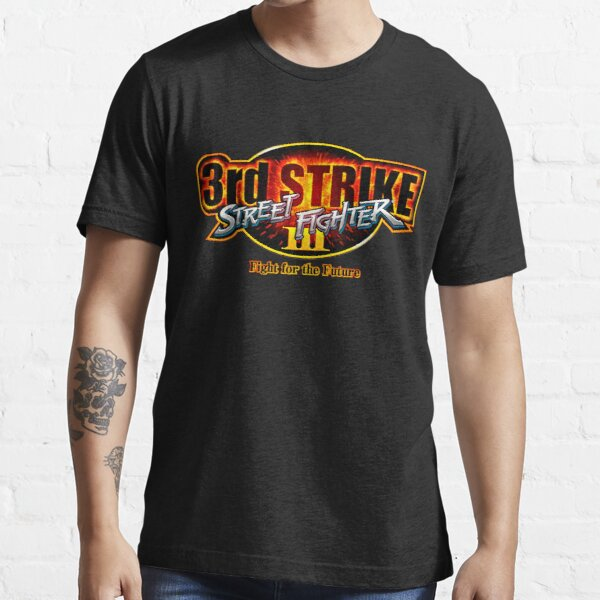 Street Fighter III: 3rd Strike - logotipo de Fight for the Future Camiseta esencial