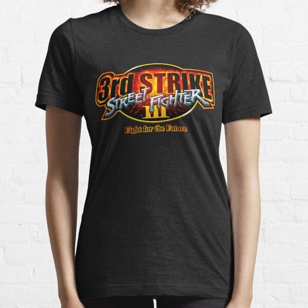 Street Fighter III: 3e Strike - logo Fight for the Future T-shirt essentiel