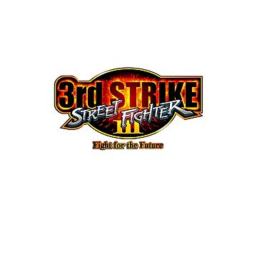 Street Fighter III: 3rd Strike - Fight for the Future logo by PitadorBoy