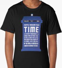Timey Wimey Long T-Shirt