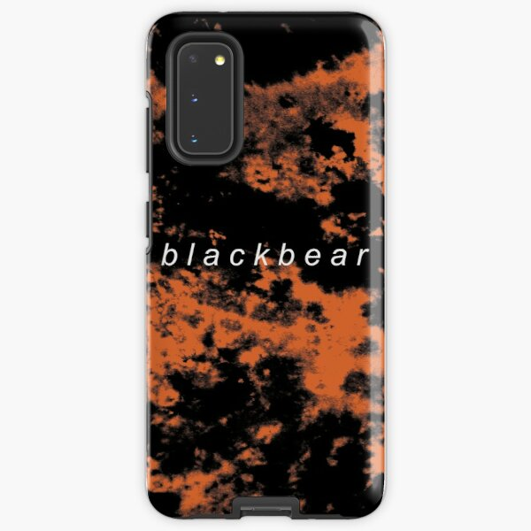 blackbear tie dye Samsung Galaxy Tough Case