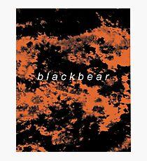 blackbear tie dye Photographic Print