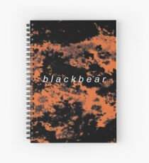 blackbear tie dye Spiral Notebook