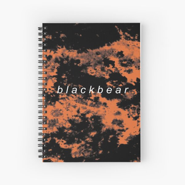 blackbear tie dye Spiral Notebook