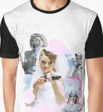 """It's Gotham baby, We've all got flair!"" (White Design) Graphic T-Shirt"