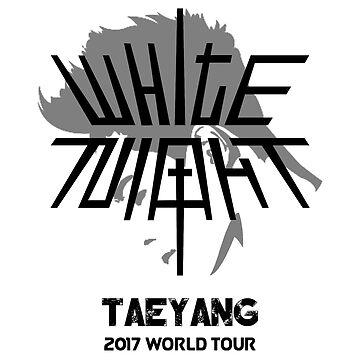 KPOP TAEYANG BIG BANG 2017 WORLD TOUR WHITE NIGHT by LySaVN