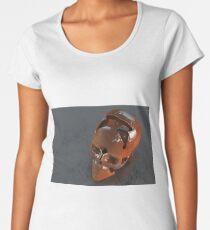 Lo-Fi Rusty Skull  Women's Premium T-Shirt