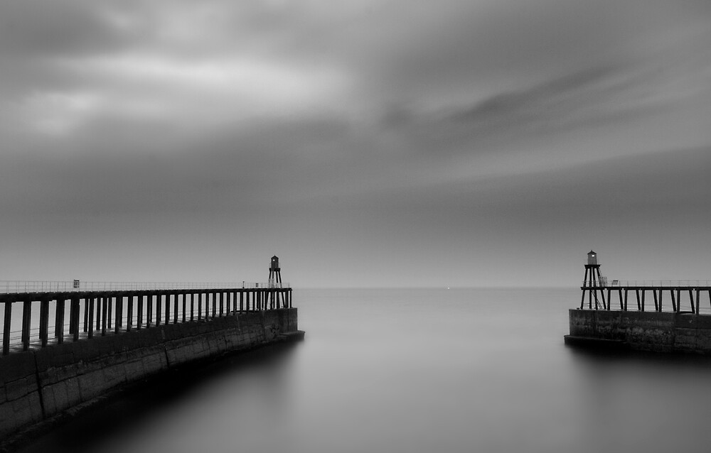Whitby Harbour, North Yorkshire by Paul Corica