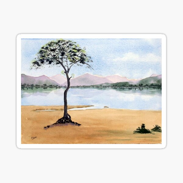 Milarrochy Bay, Loch Lomond Sticker