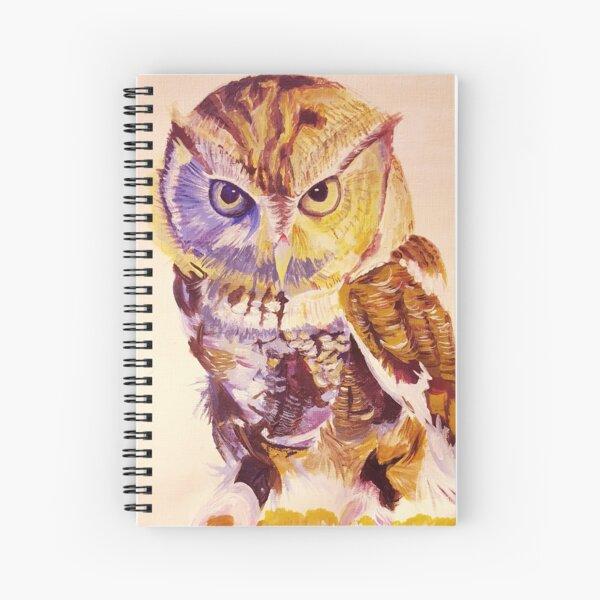 Acrylic Owl Spiral Notebook