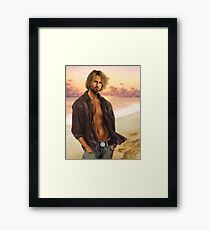 Josh Holloway Framed Print
