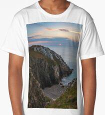 Sunset Seascape France Long T-Shirt