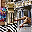 Haight Ashbury by Barbara  Brown