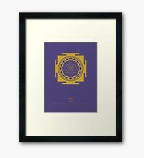 Sri Yantra Mandala Framed Print
