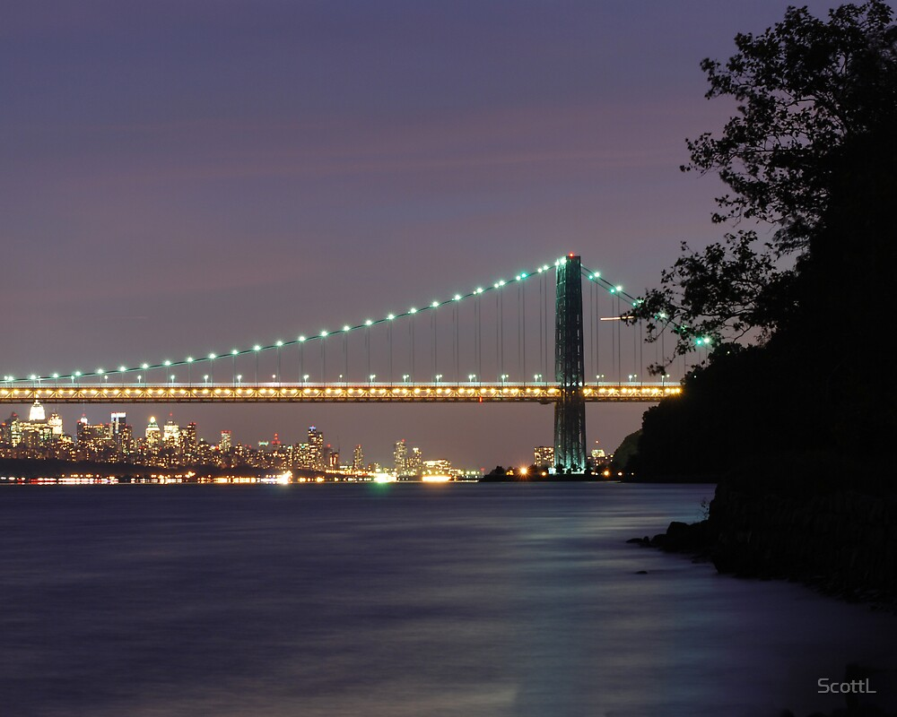 George Washington Bridge - New York by ScottL