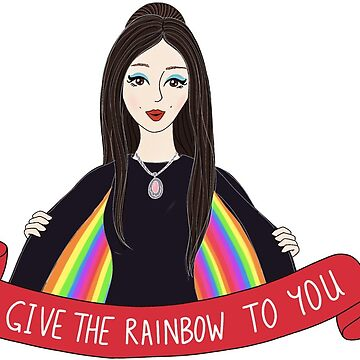 I Give The Rainbow To You | The Love Witch by laceandwhimsyxo