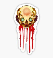OrnaMental Skullerific Sticker