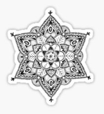 Regal Mandala Sticker