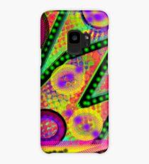 Starburst abstract zig zag neon spacey patterns Case/Skin for Samsung Galaxy