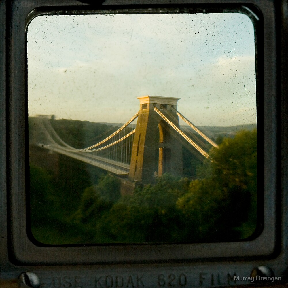The Clifton Suspension Bridge by Murray Breingan