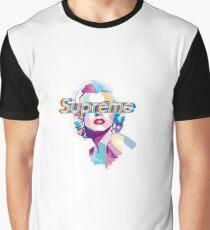 Marilyn Monroe Supreme design Graphic T-Shirt