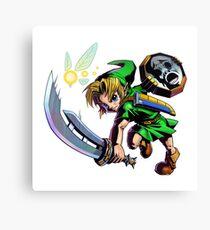 Link/Zelda Canvas Print
