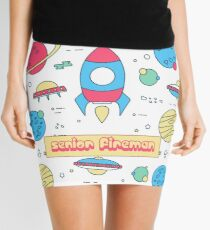 SENIOR FIREMAN Mini Skirt