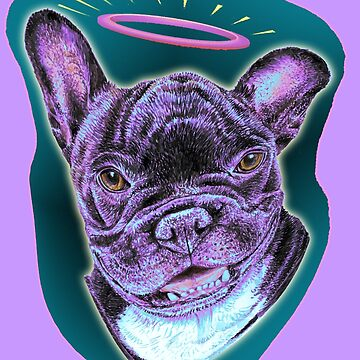 French Bulldog My Angel by didielicious