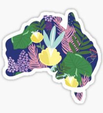 australia floral no. 1 Sticker