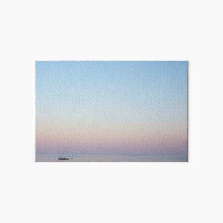 Sunset at Sea Art Board Print