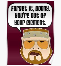 You're Out of Your Element, Donny Poster