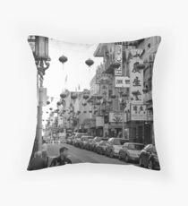 Chinatown, San Francisco During the Chinese New Year Throw Pillow