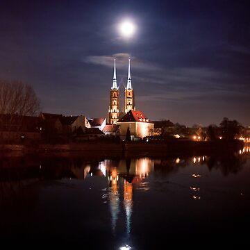 Full moon - full by domcia