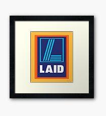 LAID Framed Print