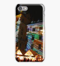 Christmas lights in Graz iPhone Case/Skin