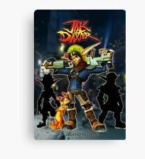 Jak & Daxter Trilogy  Canvas Print