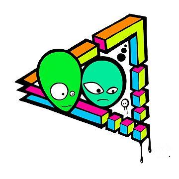 Alien Gaffshop by visualanti