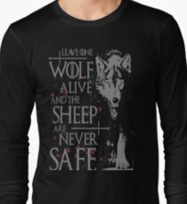 Thrones wolf t-shirt best quote T-Shirt