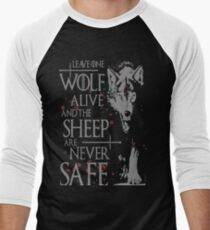 Thrones wolf t-shirt best quote Men's Baseball ¾ T-Shirt