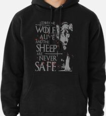 Thrones wolf t-shirt best quote Pullover Hoodie