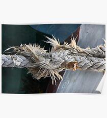 Frayed Poster