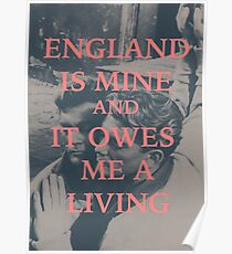 The Smiths, England is Mine Poster