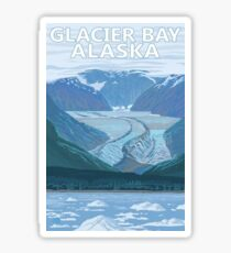 Glacier Bay Alaska National Park Travel Decal Sticker Sticker