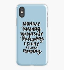 *blink* calligraphy iPhone Case