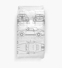 blueprint Duvet Cover