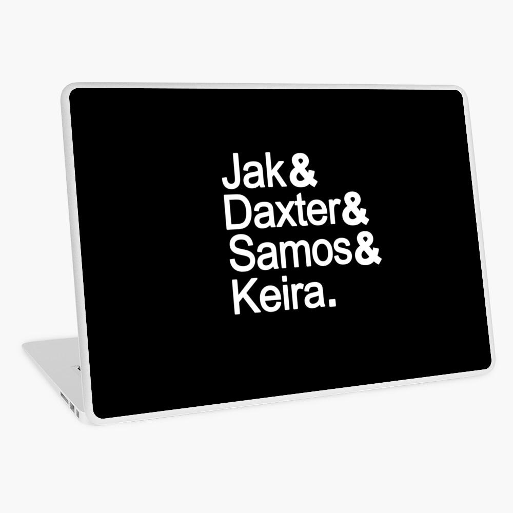 Jak Daxter Samos Keira Laptop Skin By Daxtermaster Redbubble